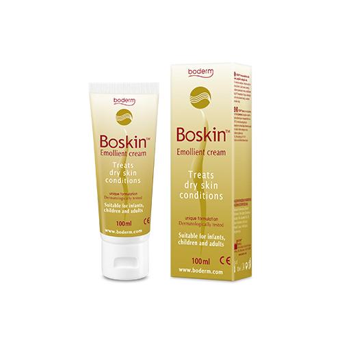 Crema idratante emolliente per pelle secca Boskin Emollient Cream 100ml